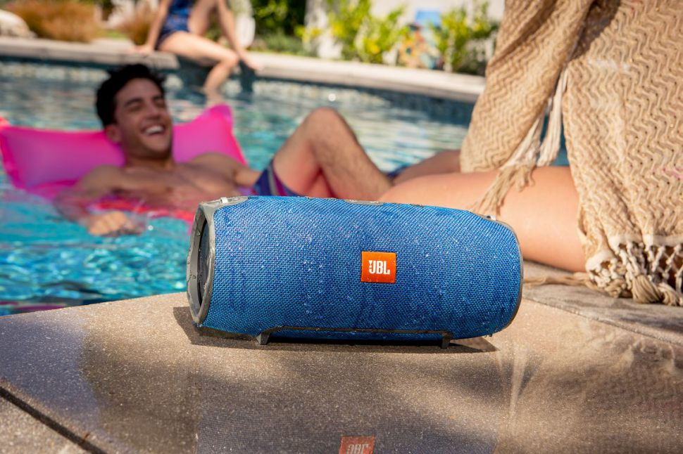 The JBL Charge 2 is loud and splashproof
