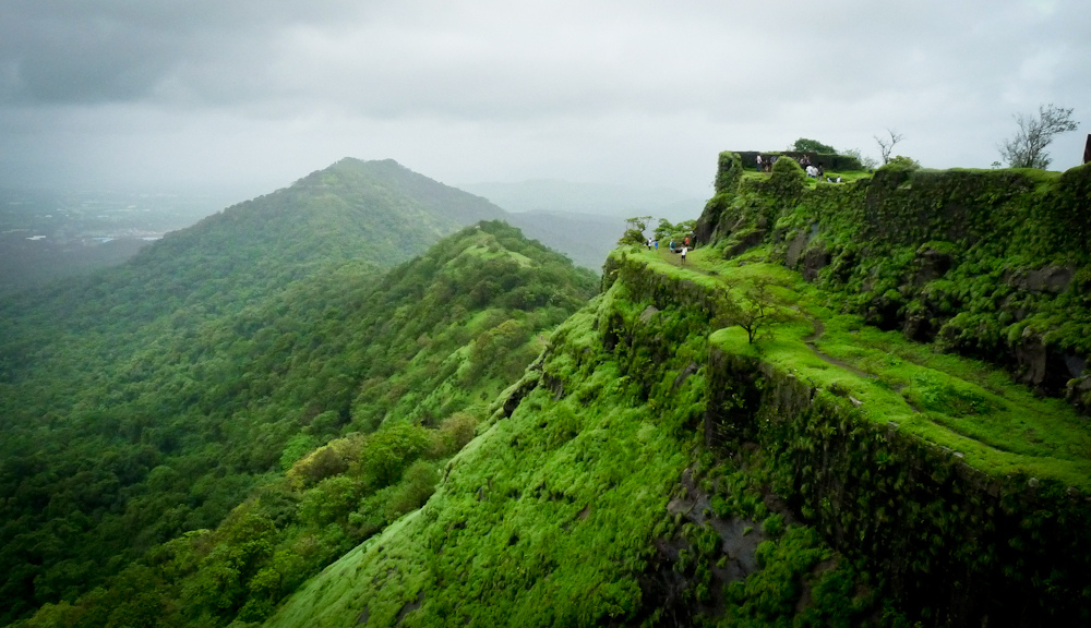 Karanla fort bird sanctuary trek view